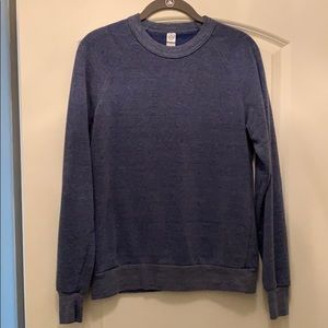 Alternative apparel crew neck sweatshirt